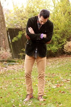 jacket by rugby.   need to find a corduroy/velvet type jacket for me!