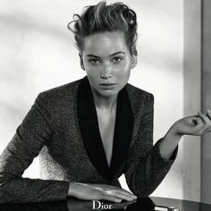 Jennifer Lawrence goes nearly makeup-free for Dior. See the stunning shots!