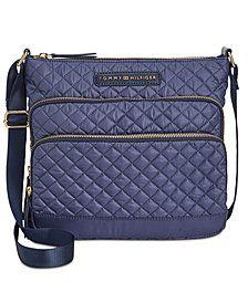 Tommy Hilfiger Alva Nylon Quilted Crossbody Burberry Handbags e8ddad1b8432a