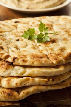 Homemade Naan Bread Recipe - it's surprisingly easy to make your own naan and definitely worth it