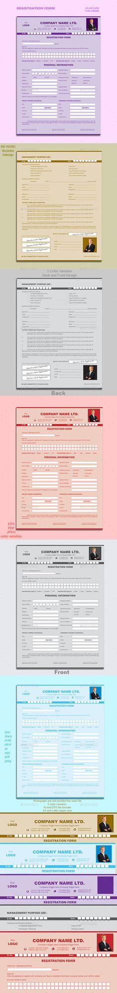 Form - employee registration form