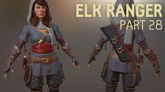 Elk Ranger Creation Part 28 | Substance Painter Texturing
