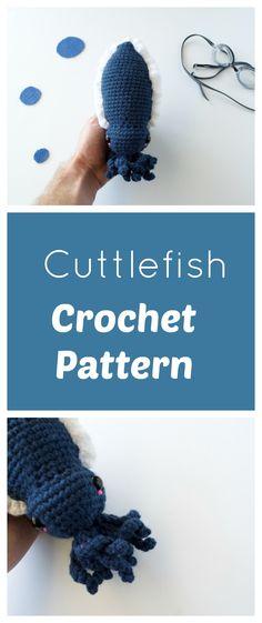Amigurumi Cuttlefish! Free Pattern (scheduled via http://www.tailwindapp.com?utm_source=pinterest&utm_medium=twpin)