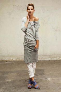 humanoid dress and layers