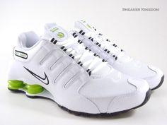 nike shox lime green | Nike Shox NZ White Lime Green Black Running Men Shoes | eBay