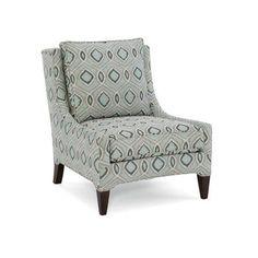 Sam Moore Logan Club Chair Finish: Espresso, Upholstery: 2182 Cabana
