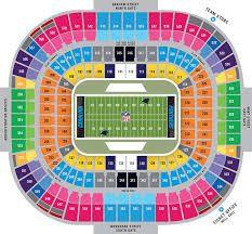 Atlanta Falcons Mercedes-Benz Stadium seating Chart view