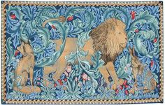 Historic Style - Tapestries - The Lion