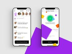 Ziina - App Screens by Wesley van 't Hart for Balkan Brothers on Dribbble