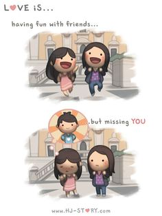 Check out the comic HJ-Story :: Love is... Missing You