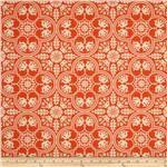 Joel Dewberry Notting Hill Historic Tile Tangerine