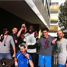 «Les guépards fêtent les records #fouleesdevincennes #foulees #vincennes #record #running #run #boostbastille»