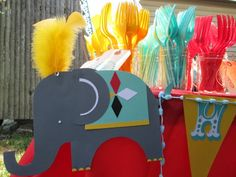 Circus Birthday Party http://www.etsy.com/listing/161076817/circus-happy-birthday-banner?ref=shop_home_active