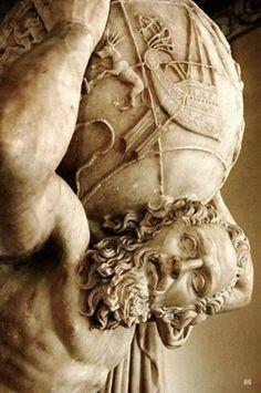 Il Dio Atlante, Museo Archeologico di Napoli