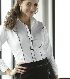 Camisa manga larga TOP STUDIO mujer