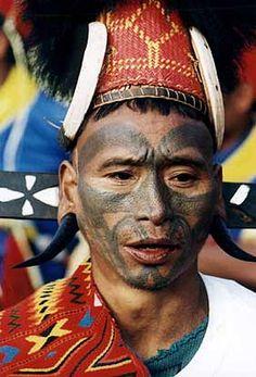 Taiwan Aboriginal Tattoo from the atayal tribe