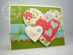 Stampin' Up! Demonstrator - Mary Fish, Stampin' Pretty Blog, Stampin' Up! Card Ideas & Tutorials: Thank You