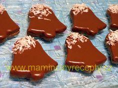 Ořechovo-čokoládové zvonečky