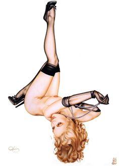 Olivia De Berardinis Pinup Art