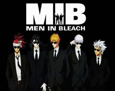 Bleach Guys MIB Wallpaper Wallpaper