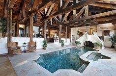 Indoor Swimming Pool Design Ideas For Your Home 7