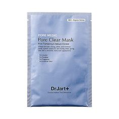 Best for: Oily skin with enlarged pores Dr. Jart+ Pore Medic Pore Clear Mask ($6) is a single-use cloth mask saturated with plum extract to absorb excess oils and control sebum production. There's also chestnut shell extract to constrict pores, while hyaluronic acid hydrates the skin without causing breakouts.