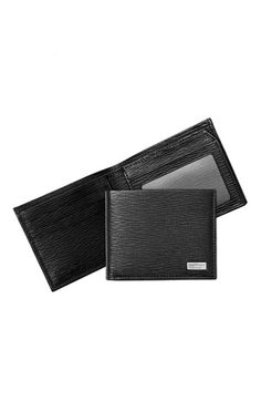 f6ece3e4e8 Salvatore Ferragamo Stamped Calf Wallet available at #Nordstrom Best Wallet,  Pebbled Leather, Travel