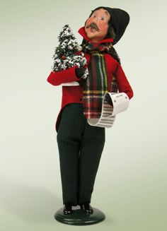 """""""Caroling Man"""" a product from the Holiday Carolers."""