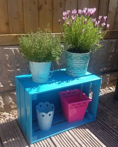 #garden #painting #diy #crafts #turquoise #ikea #ikeahack #plants #gardencrafts