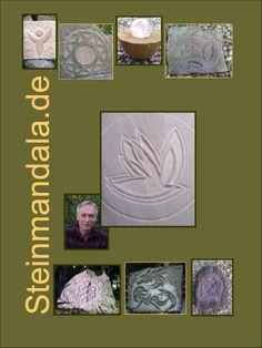 Mandalas in Stein und vieles mehr ! Gestalten Sie mit mir Ihr persönliches Steinmandala. Unikate, Natursteinschmuck, Edelstein-Mandalas, Steinmandalas