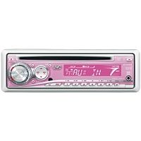 Pink car radio - This is pretty sweet, but I'd have to give up my tape player.. (I'm old school).. lolol xp