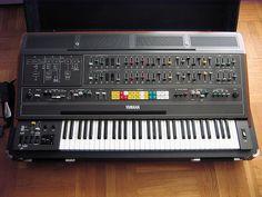 Yamaha CS-80 - amazing sounds; used by Vangelis & Jean Michel Jarre