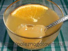 Фруктовое  желе с апельсином Домашнее фруктовое желе из натуральных фруктов - отличный вариант вкусного диетического десерта! Апельсиновое желе идеально подходит для зимних праздников.