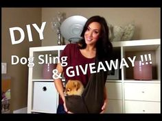 Easy DIY Dog Sling (Instructions with The Belkin Tablet Stage Stand) and The Stage Pro App - YouTube