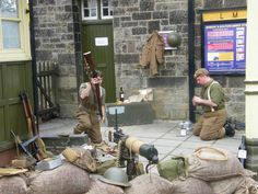 Watch out for the Home Guard, Soldiers and Airmen returning home on leave | 1940's WEEKEND |