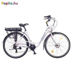 """A Neuzer elektromos kerékpár egy prémium minőségű anyagok felhasználásával létrejött termék.    Jellemzői:  - Kerékméret: 28""""  - Vázméret: 19""""  - Váz: AL6061 alu nagy teherbírású  - Villa: Merev acél 28""""  - Első fék: Promax V  - Hátsó fék: Promax V  - Hajtómű: ALU 38T  - Hátsó váltó: Shimano TY300 6 SPD (6 sebesség)  - Váltókar: Shimano RS35 Revoshift 6 SPD (6 sebesség)  - Első agy: Bafang 8FUN Agymotor  - Hátsó agy: Quando ALU 36H  - Felnik: HLQC-08A 28"""" Duplafalú  - Köpeny / Gumi: Kenda… Trekking, Bicycle, Bicycle Kick, Bike, Trial Bike, Hiking, Bicycles"""