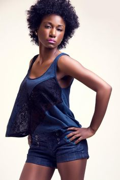#Fashion #NaturalHair #Curls #Beauty #Makeup #Blue #California #photography   www.TieiraRyder.wordpress.com