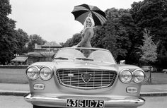 Brigitte Bardot-Lancia Flavia