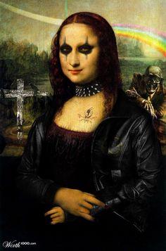 Mona Lisa Rockera - Worth1000 Contests