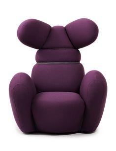Normann Copenhagen – Bunny Chair http://decdesignecasa.blogspot.it