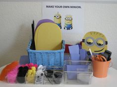 Despicable Me Minion Birthday Party | The Ruby Lake - make your own minion,  this site has links to some magic ideas !