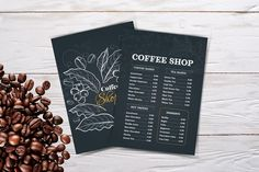 Coffee menu template coffee menucoffee menu coffee | Etsy French Coffee, Italian Coffee, Turkish Coffee, Coffee Shot, Coffee Menu, Menu Flyer, Food Menu Template, Restaurant Menu Design, Coffee Cards