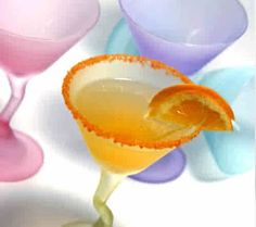 #Tangerine #Martini, #Facesbytamara. blogspot was right on with this #recipe. #cocktails #Drinks