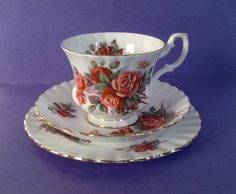 A personal favorite from my Etsy shop https://www.etsy.com/ca/listing/231686814/royal-albert-centennial-rose-bone-china
