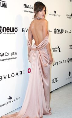 Best Dressed Celebrities: See Their Dresses From the Back - Alessandra Ambrosio