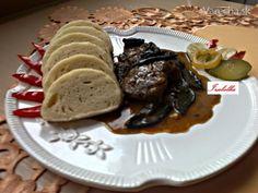 Diviak na červenom víne so suchohríbami (fotorecept) - Recept 20 Min, Comb, Beef, Cooking, Foods, Meat, Kitchen, Food Food, Food Items
