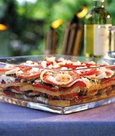Rezept: Mediterraner Schichtsalat