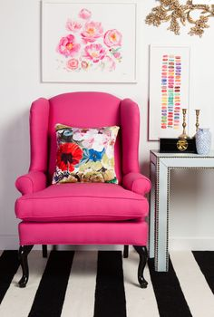 This wing back chair from Society Social is gorg!