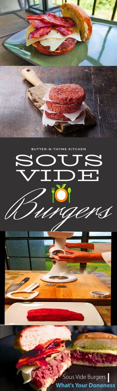 Sous Vide Burgers Are A Dream. As cooks we all want to be great in the kitchen. Offering amazing food that's colorful and full of great texture. Sous Vide cooking its right up there with the best fine dining restaurants when it comes to high-end cooking. The day I ate my first sous vide burger I was really impressed with the texture. My personal favorite is sharing the experience with those that have never enjoyed.  If your looking to make the very best sous vide burger you can I suggest…