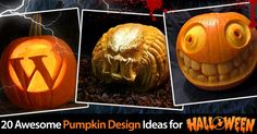 20 Awesome Pumpkin Carving Design Ideas For Halloween 2013
